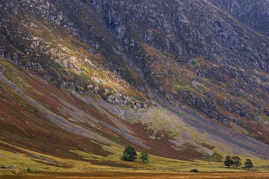 Loch Achtriochtan van Miranda Bos