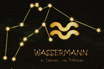 Sternbild - Wassermann von Christine Nöhmeier