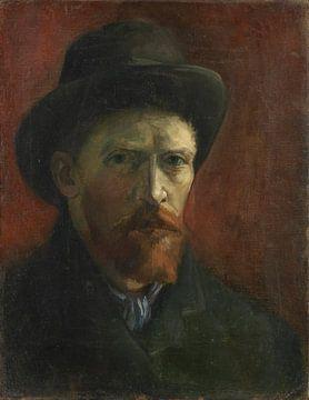 Selbstbildnis mit dunklem Filzhut, Vincent van Gogh