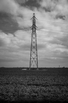 Elektrizitätsmast von Terence_photography