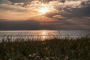 zonsondergang den helder van Michael Ter horst