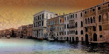 Gouden Venetië van Lutz Roland Lehn