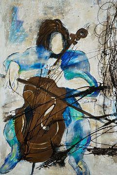 the cello player sur Joachim G. Pinkawa