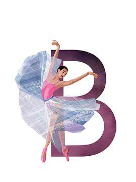 B - Ballerina van Goed Blauw