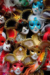 Maskers voor Carnaval of Feest van e-STER design