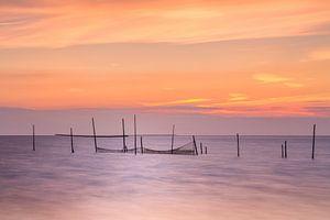 Zee zonsondergang Rockanje Zeeland  van
