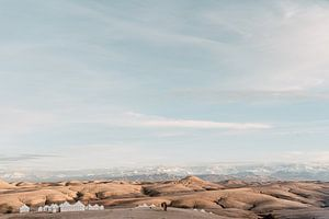 Agafay woestijn in Marokko