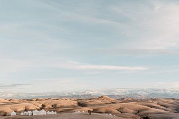 Agafay woestijn in Marokko von Yaira Bernabela