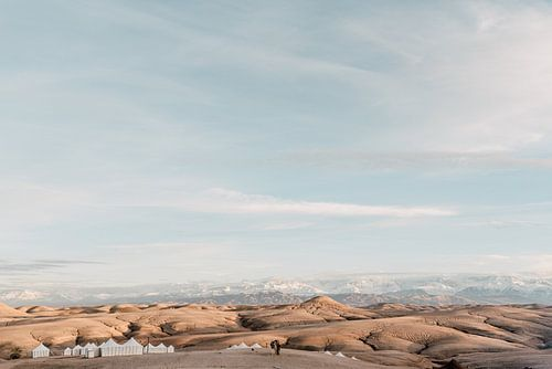 Agafay woestijn in Marokko van Yaira Bernabela
