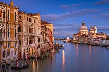 Sonnenuntergang in Venedig von Michael Abid
