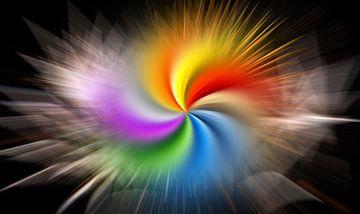 Kleuromwenteling van Heinz-Guenter Hamich