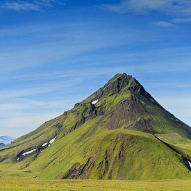 Groen IJsland van Sander van der Werf