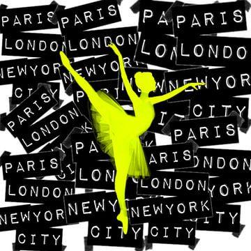 Ballet - Droom - Pop Art van Felix von Altersheim