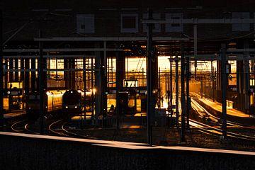 Zonsopkomst station Breda