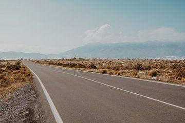 Almeria landscape van Andy Troy