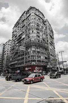 Hongkong Street view van Roland de Zeeuw fotografie