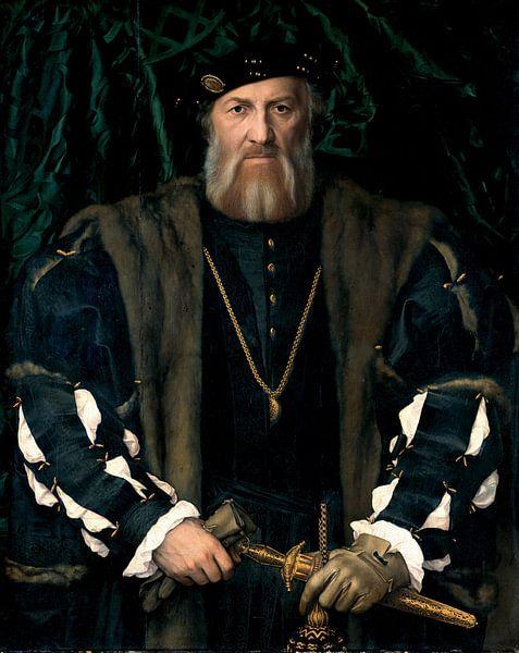 Hans Holbein.Charles de Solier von 1000 Schilderijen