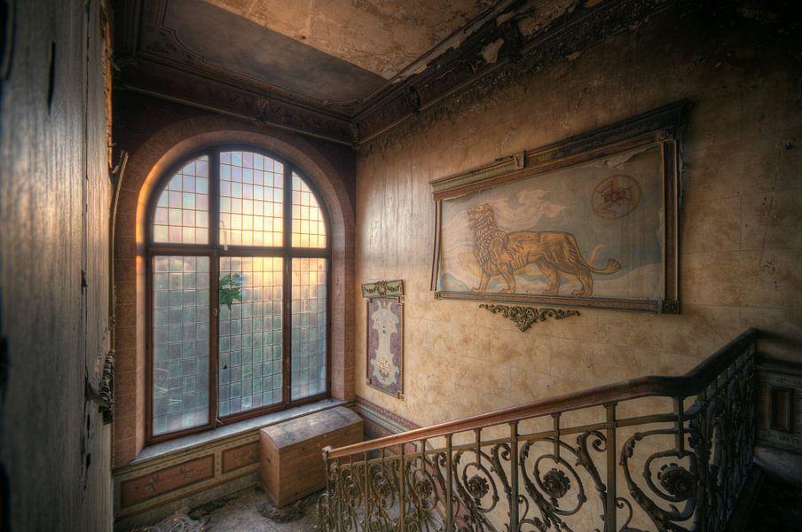 Urbex - Lion van Angelique Brunas