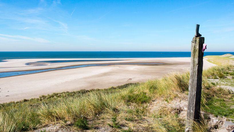 Zeezicht tweede Maasvlakte van Edwin Nagel