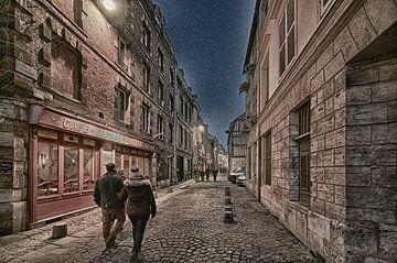 Avond in de stad van Erik Reijnders