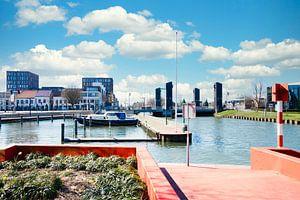 Vue du Zuid-Willemsvaart depuis le port de Weert