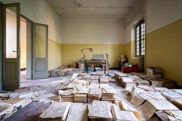Verlassener Datei-Raum. von Roman Robroek