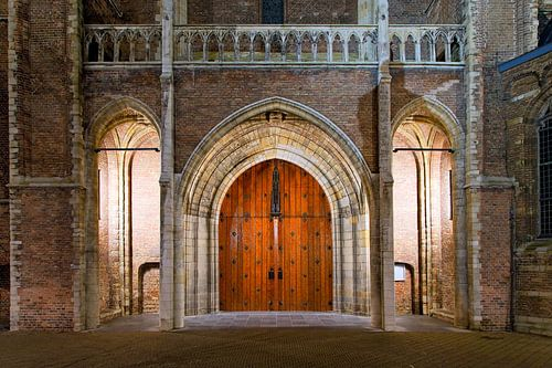 Tür Neue Kirche Delft von Anton de Zeeuw
