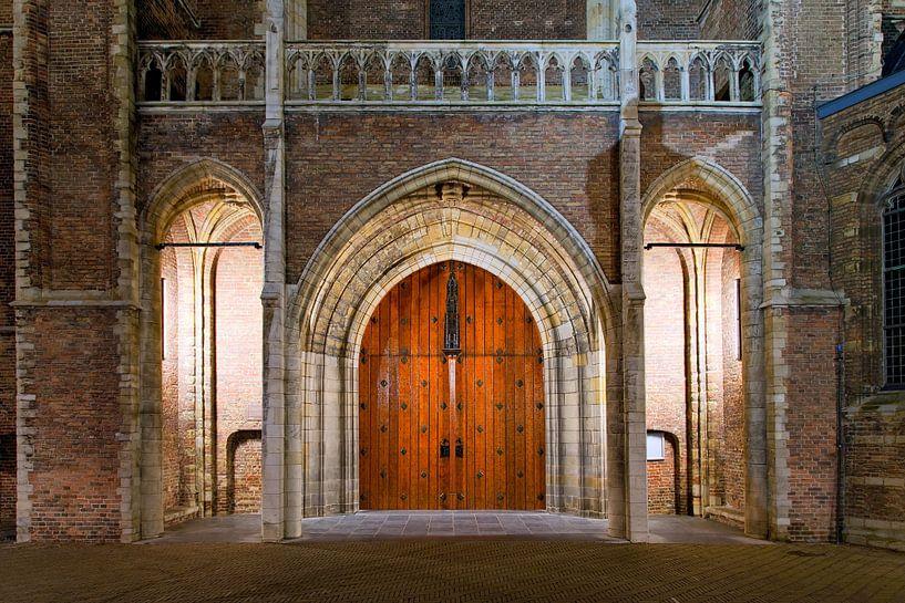 Deur Nieuwe Kerk Delft van Anton de Zeeuw