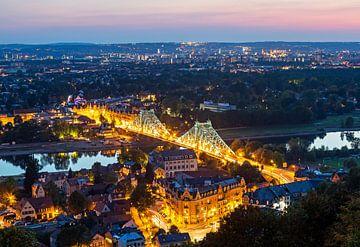 Dresden Loschwitz en het blauwe wonder