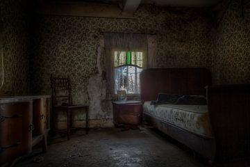 Verlassenes Schlafzimmer von Eus Driessen
