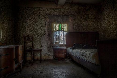 Verlaten slaapkamer