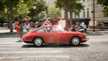 Vintage Porsche 912 von Simon Peeters