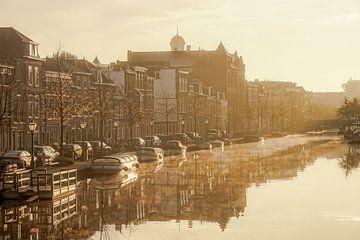 De Rijn in Leiden sur