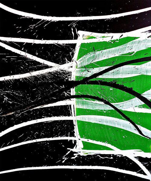 Between the green lines sur Rob van Heertum