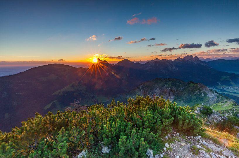 Goodmorning Tirol van Harold van den Berge
