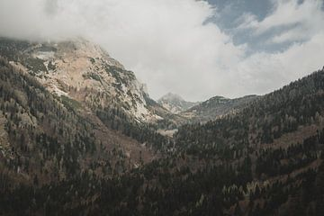 Gebirgspass in den Julischen Alpen von Paulien van der Werf