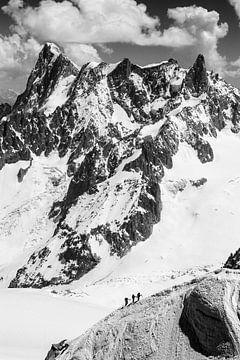 Alpinistes, Alpes sur Frank Peters