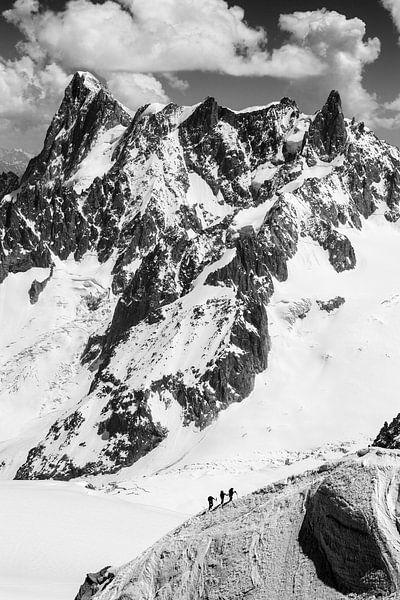 Bergbeklimmers, Alpen van Frank Peters