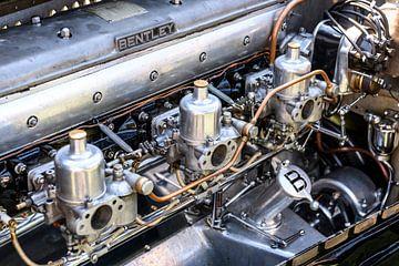 Moteur de carrosserie Bentley 6 1/2 Litre Vandenplas sur Sjoerd van der Wal