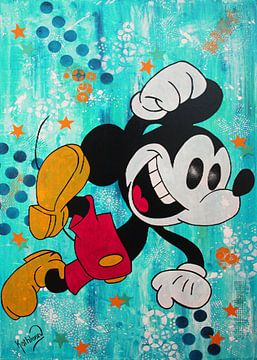 Mickey Mouse «Heureux»