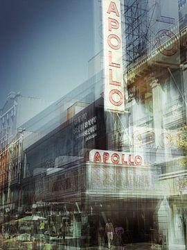 New York Art Apollo Theater van Gerald Emming