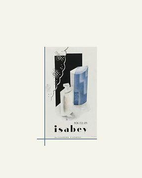 Isabey | Historische Art Deco Mode Advertentie van NOONY