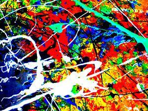 abstrakte Malerei Komp. K23  limitierte Auflage 1-100 von lee eggstein
