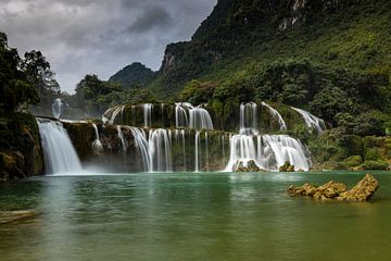 Die Ban Gioc Detian Wasserfälle von Roland Brack
