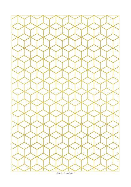 Golden hexagon