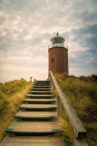 Leuchtturm Rotes Kliff von Sabine Wagner