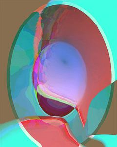 eivormig abstractie