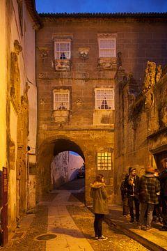 Palacio de Sup-Riva , Oude Stad, Coimbra, Beira Litoral, Regio Centro, Portugal van Torsten Krüger