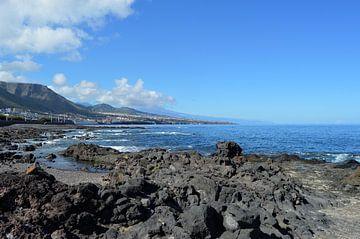 Punta del Hildalgo, de wilde noordkust van kanarischer Inselkrebs Heinz Steiner
