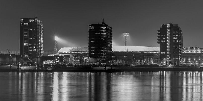 "Feyenoord Stade ""De Kuip"" 2017 in Rotterdam (format 2/1) sur MS Fotografie | Marc van der Stelt"